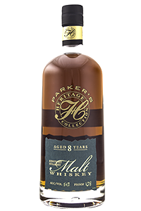 Parker's Heritage Collection 8 Year Old Straight Malt 750ml