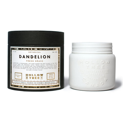 Hollow Tree Candles - Dandelion