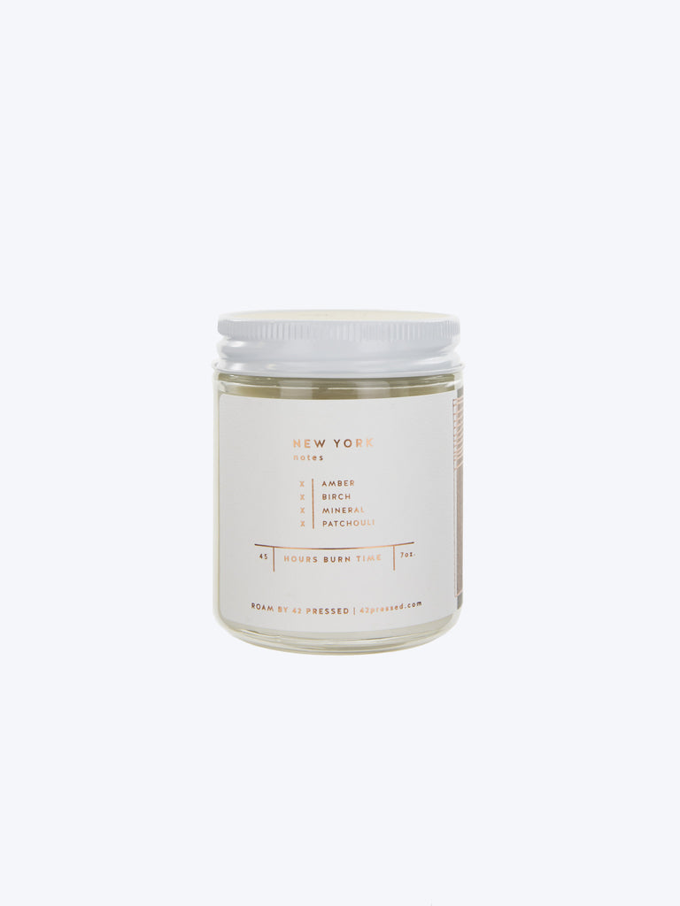 Roam by 42 Pressed - New York Candle