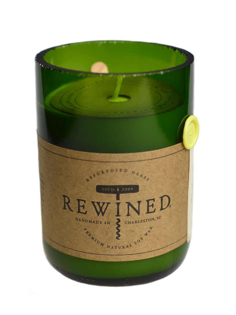 Rewined Signature Wine Bottle Candles - Chardonnay