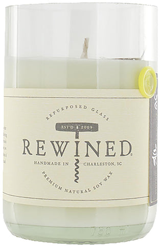 Rewined Blanc Collection Wine Bottle Candles - Chenin Blanc