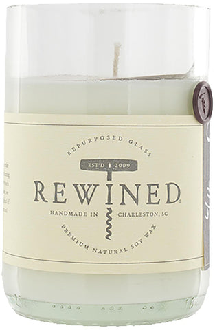Rewined Blanc Collection Wine Bottle Candles - Syrah