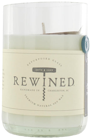 Rewined Blanc Collection Wine Bottle Candles - Viognier