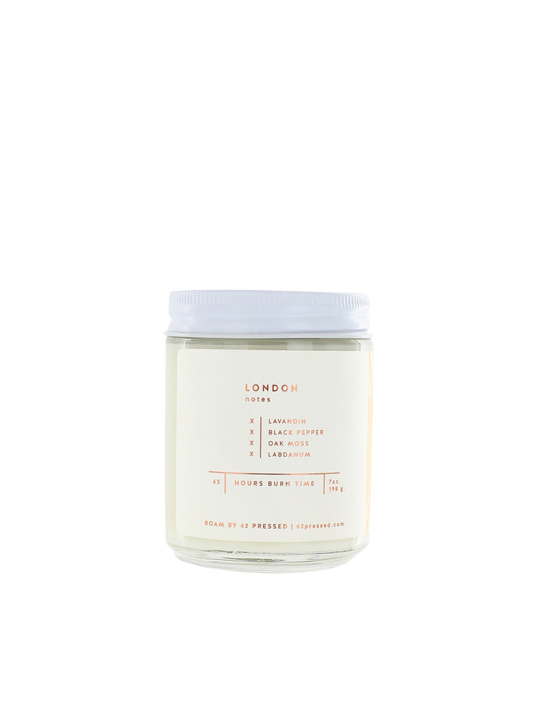 Roam by 42 Pressed - London Candle