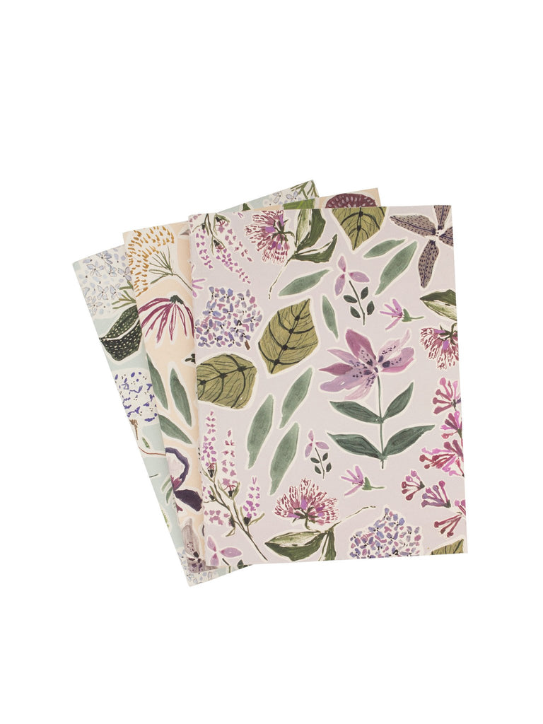 Lulie Wallace - Set of three Journals / Notebooks