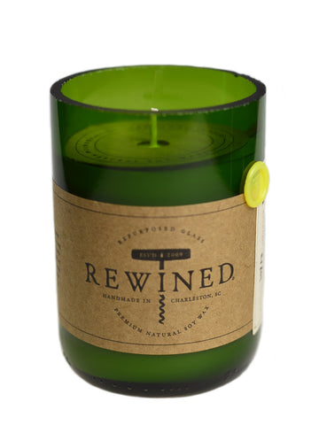 Rewined Signature Wine Bottle Candles - Pinot Grigio