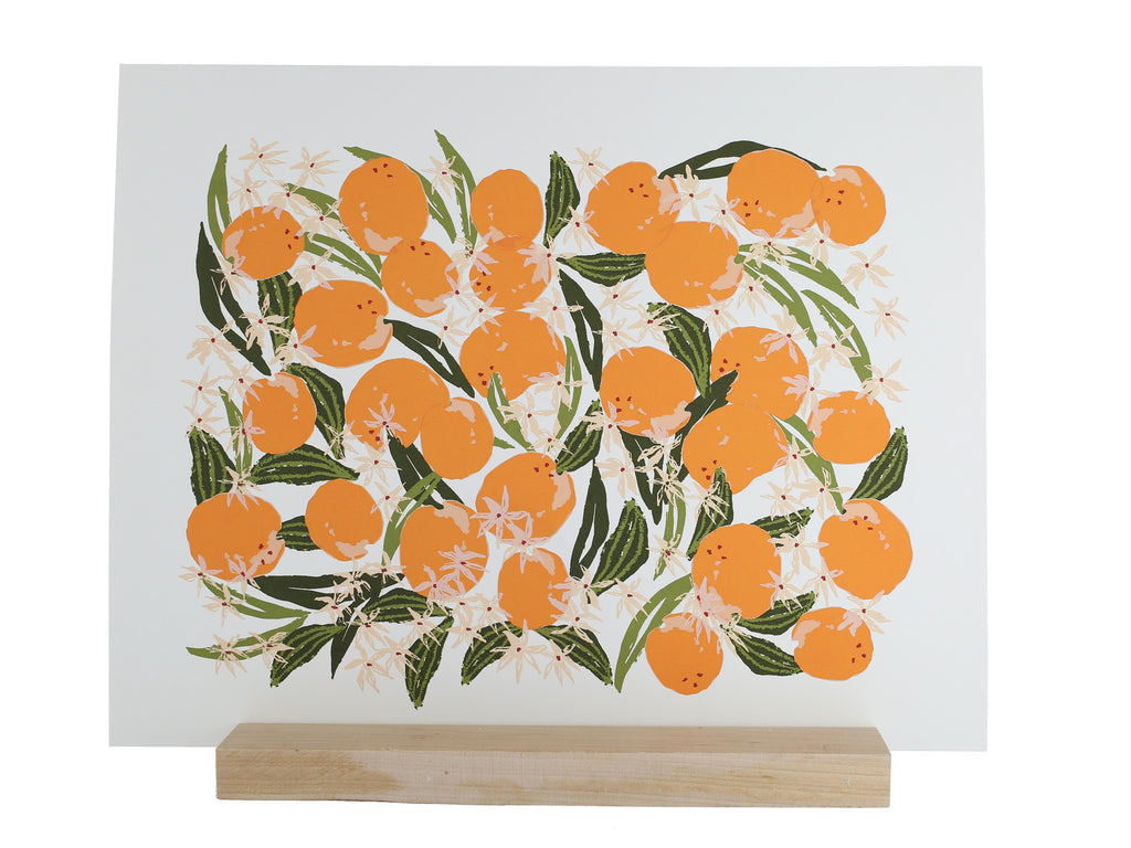 Lulie Wallace - Prints - Orange Blossom