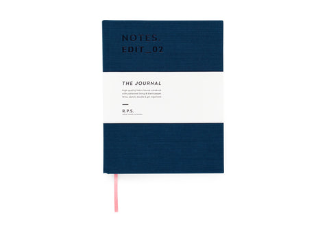 Darling Clementine RPS Collection -  Journal Notebook - Petrol Blue