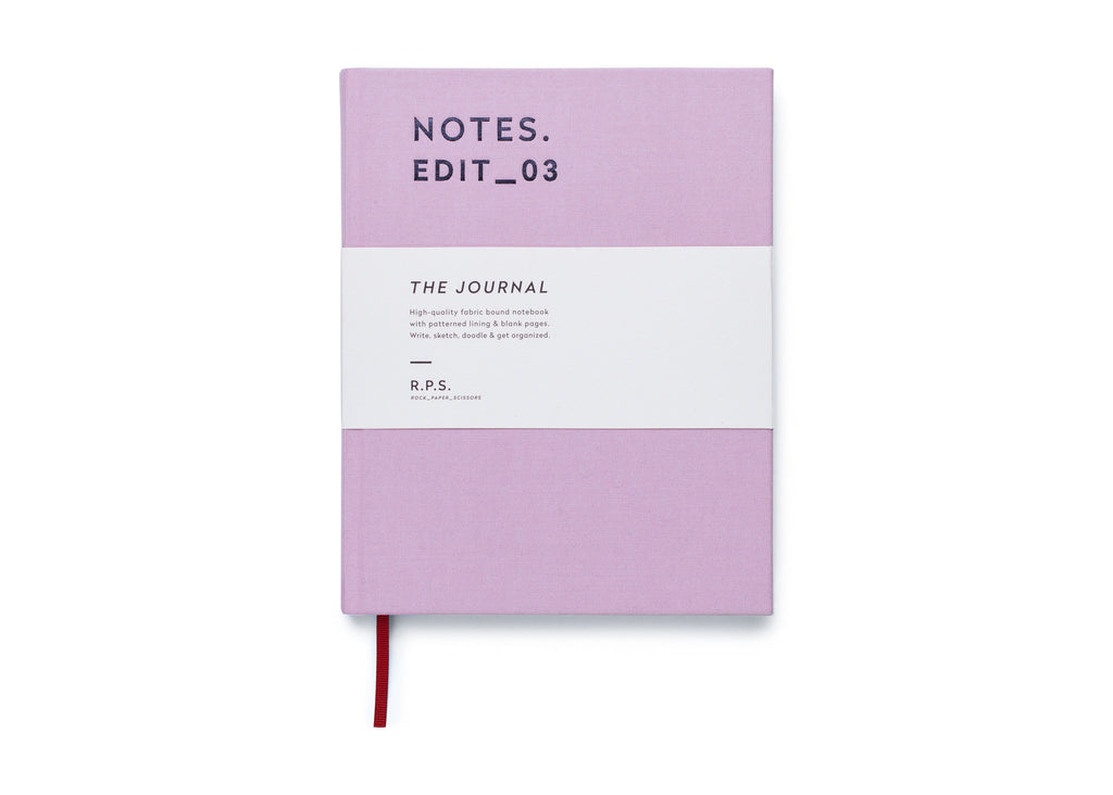 Darling Clementine RPS Collection -  Journal Notebook - Dusty Lavender