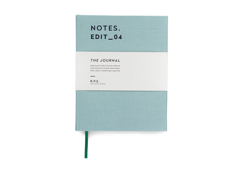 Darling Clementine RPS Collection -  Journal Notebook - Dusty Mint