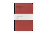 Darling Clementine RPS Collection -  A4 Folder - Rust Red