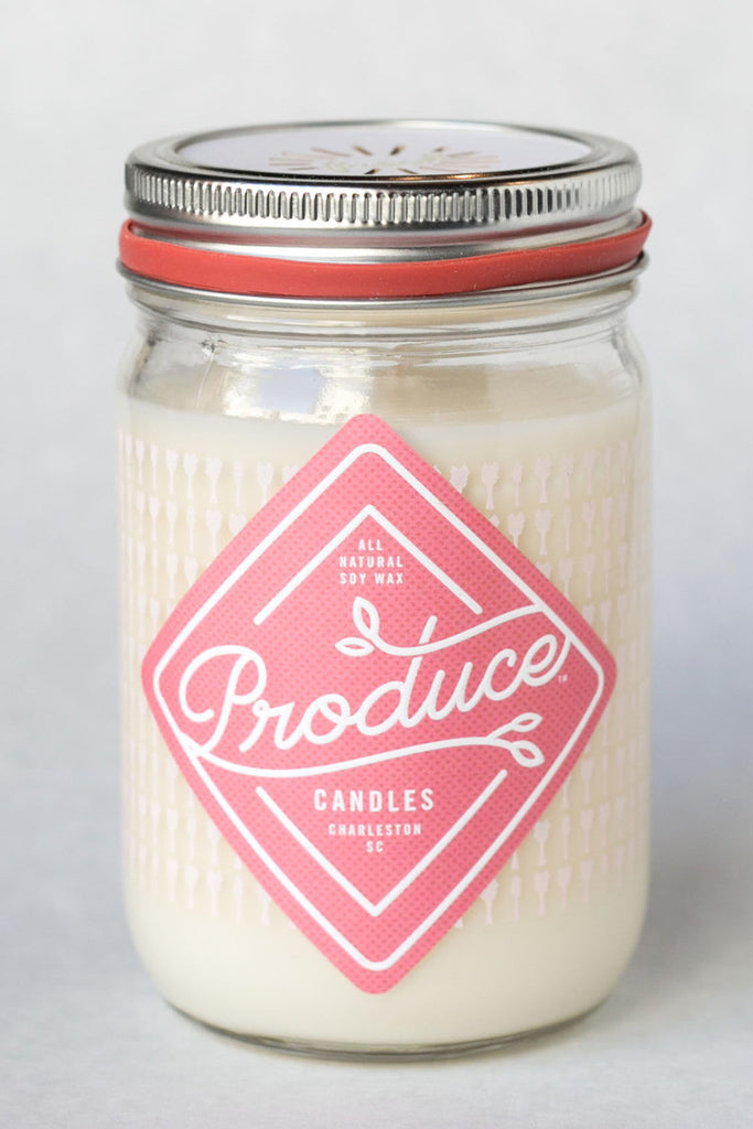 Produce Candles - Rhubarb - Spring Seasonal Special