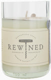 Rewined Blanc Collection Wine Bottle Candles - Rose