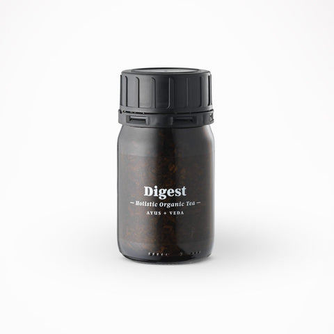 Ayurveda Holistic Care loose Tea Jar - Digest