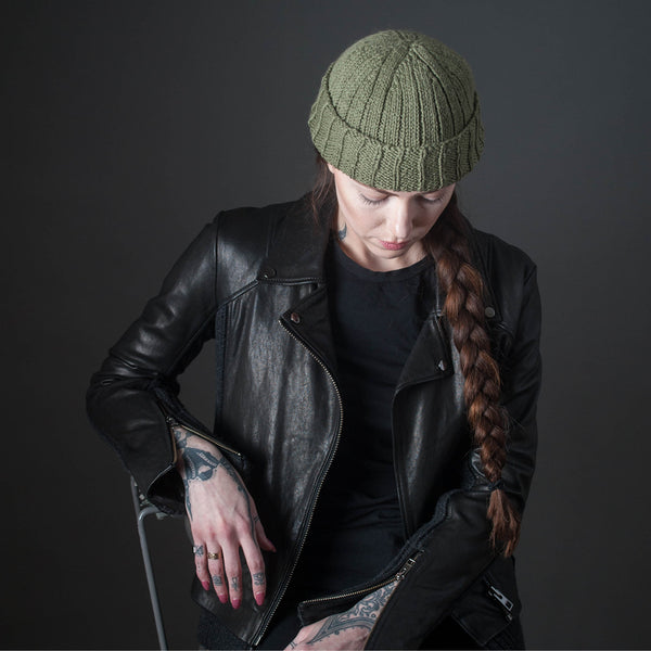 Stone Wool Scout Watch Cap