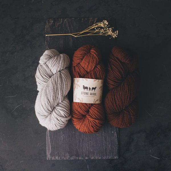 Burnett Slippers Yarn Bundle