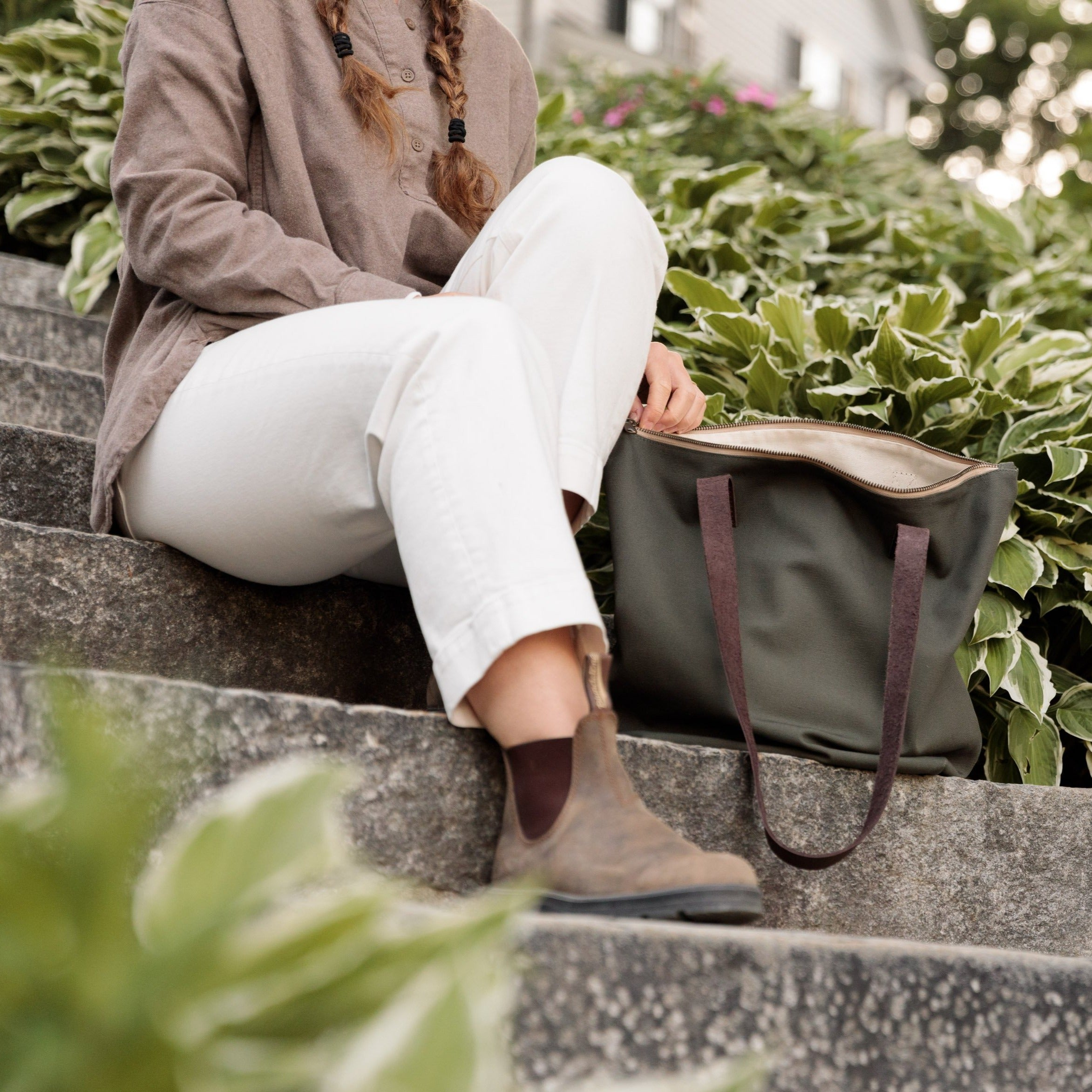 Canvas Traveler's Tote