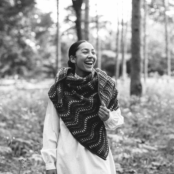 Continuous Wave Shawl