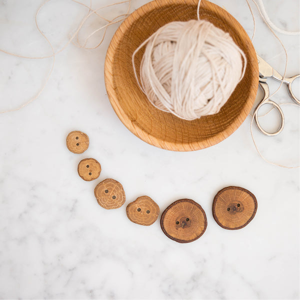 White Oak Buttons