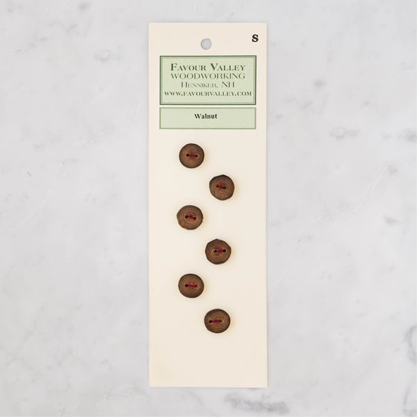 Walnut Buttons