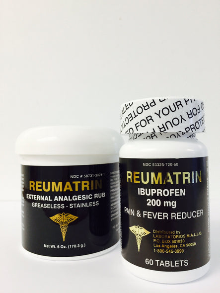 Reumatrin Cream & Tablets an Athlete Rub