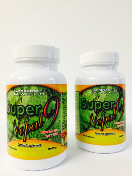 Super Nopal 9 ( Nine benefits herbs)