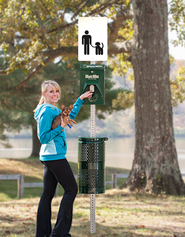 Mutt Mitt Poop Station for Dog Parks