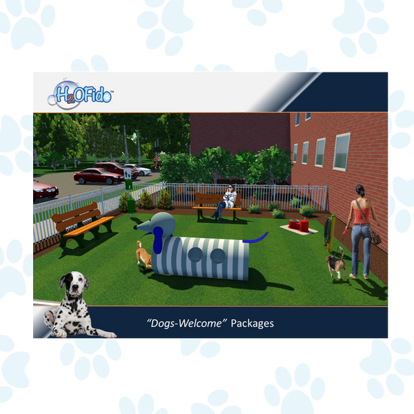 """Dogs Welcome"" Courtyard Packages"