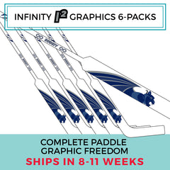 Infinity Goalie Custom Custom Graphics 6-Packs