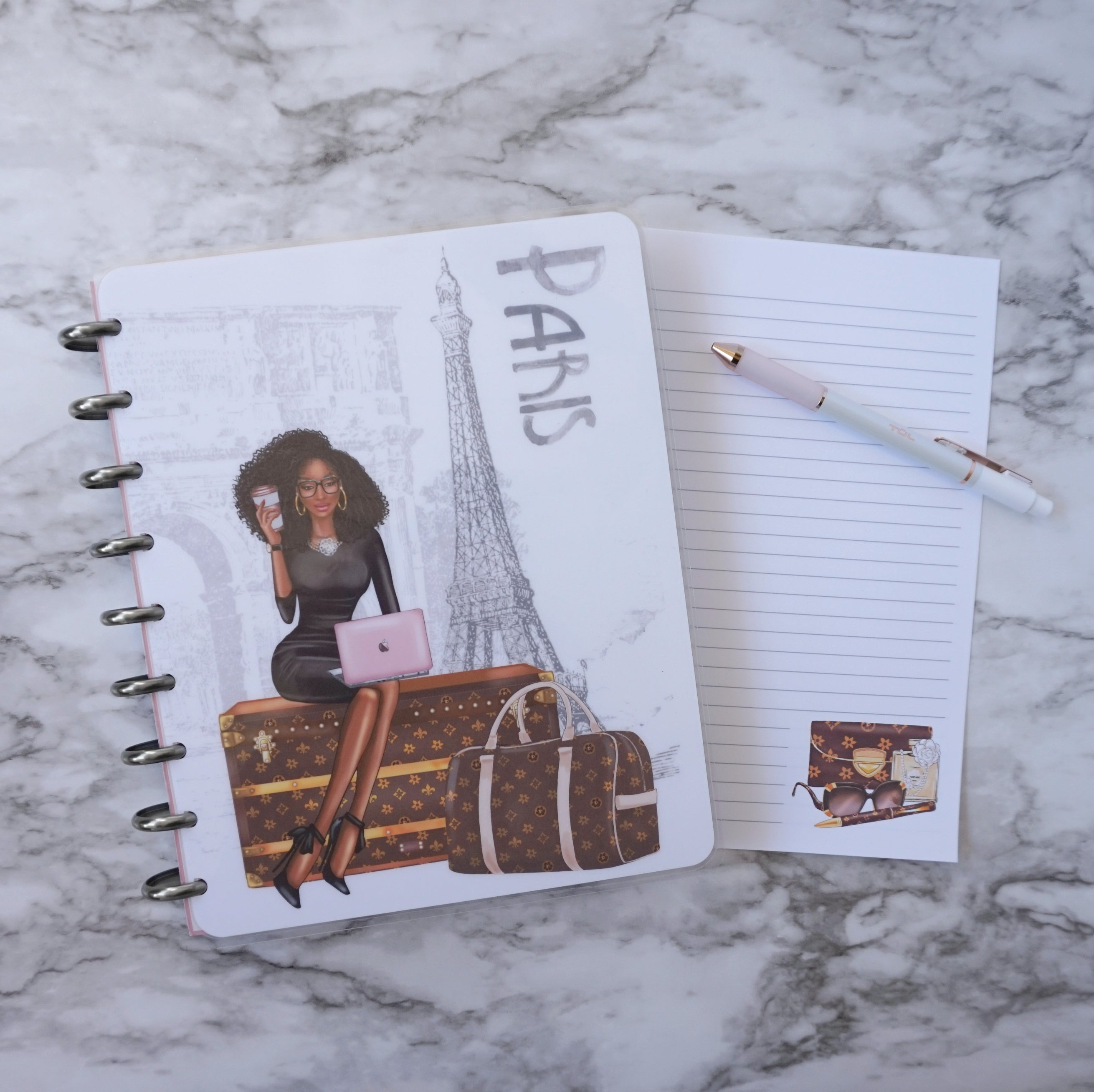 Lined Planner Journal Paper Luxe