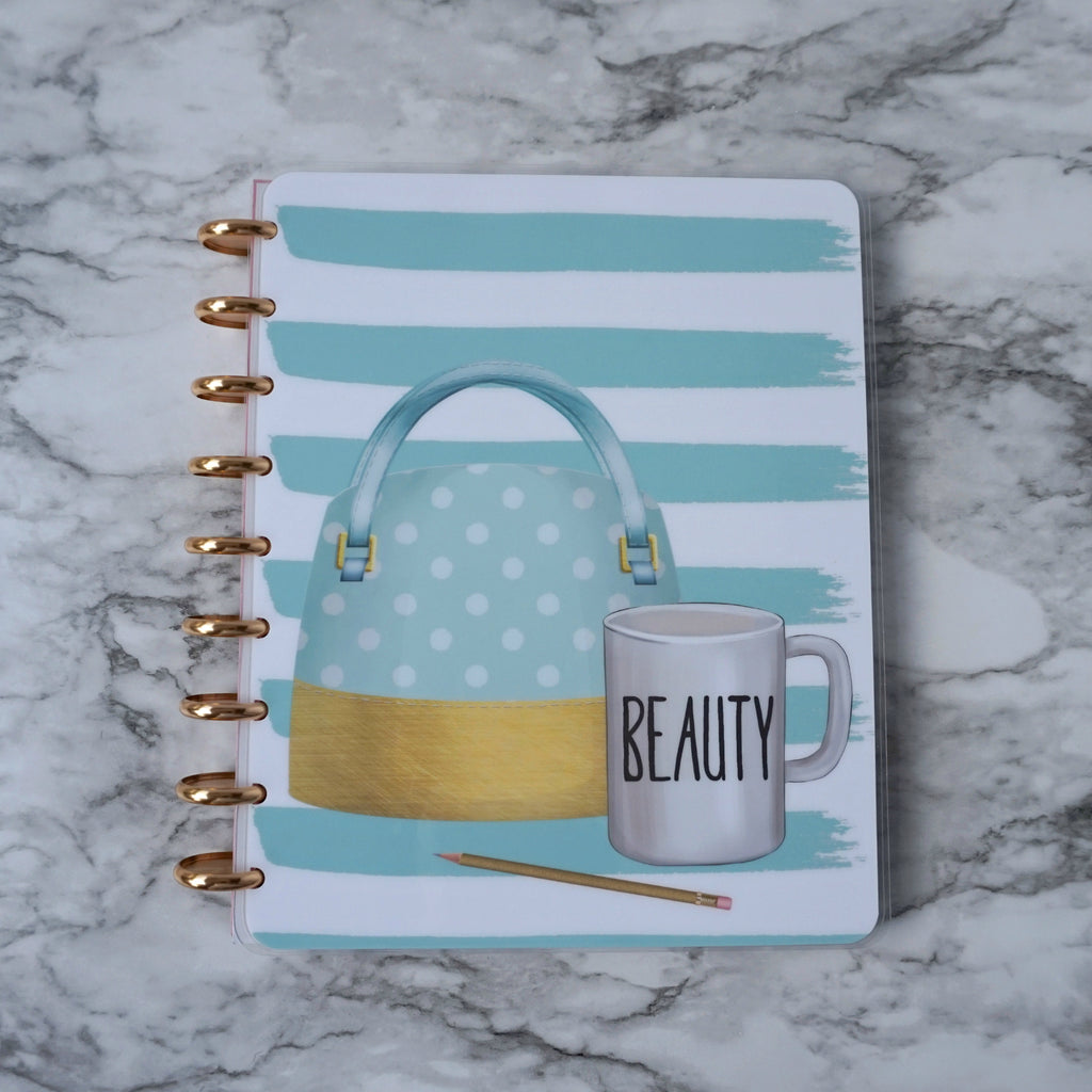 Planner Cover Discbound System Notebook Robin Egg Blue