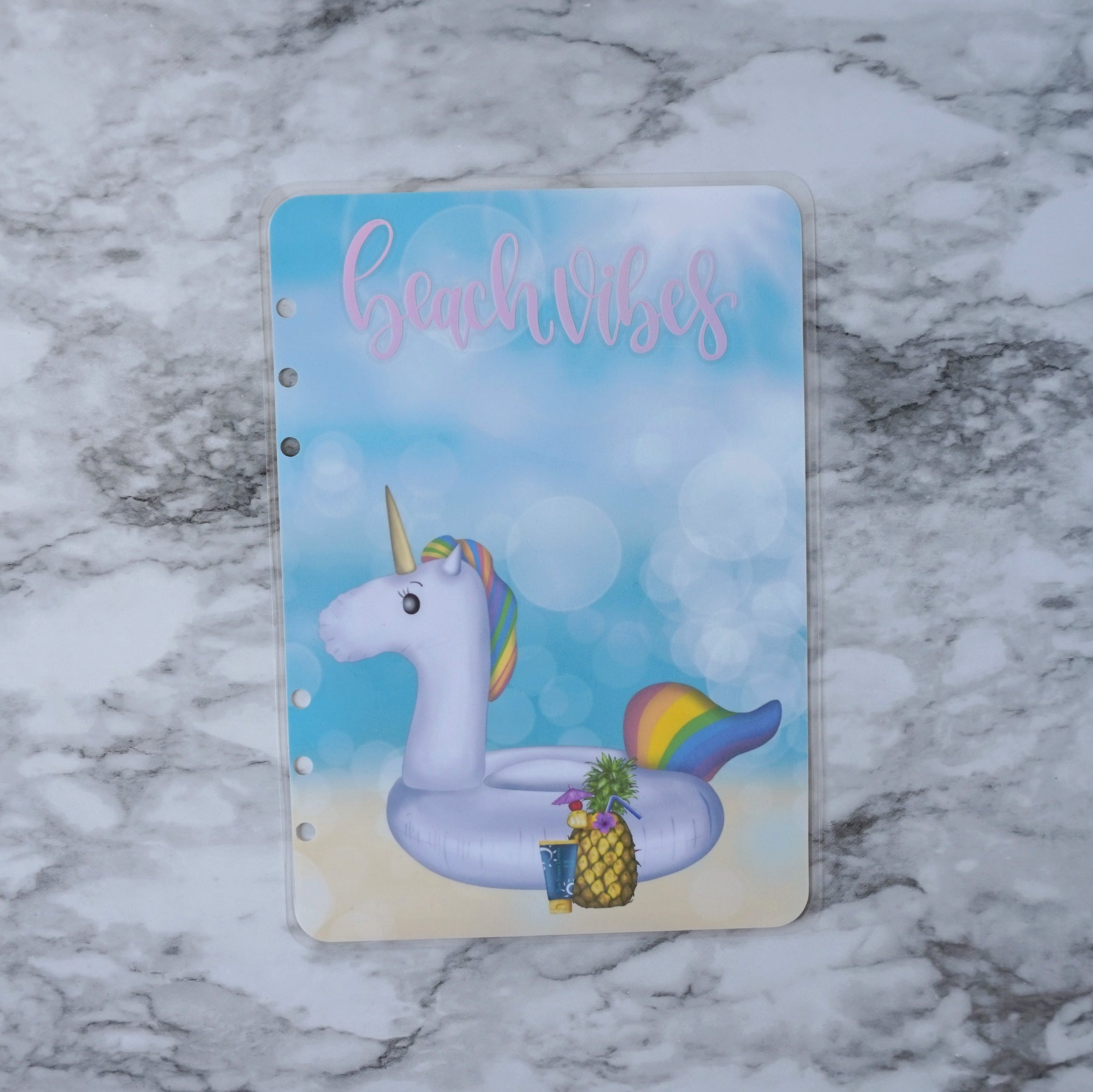 Holographic Planner Dashboard Unicorn Floaty