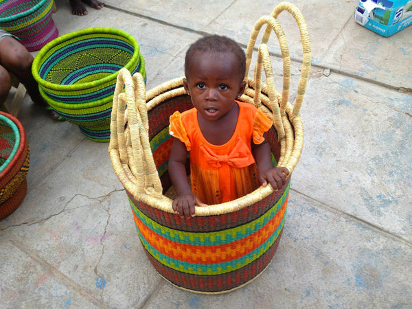 African Baskets from Bolga