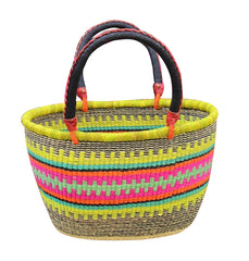 Shopping Basket - Oval Woven