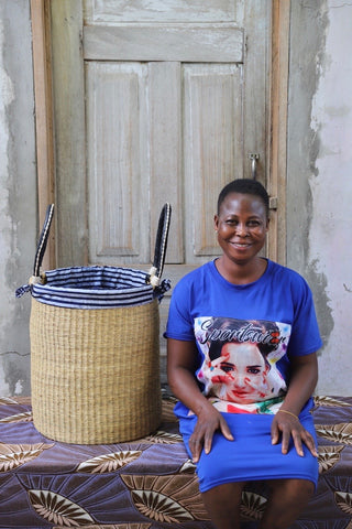 Laundry Basket (Small) by Margaret Nsohbillah