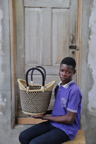 Nyariga Basket (Medium) by Noah Adagaam