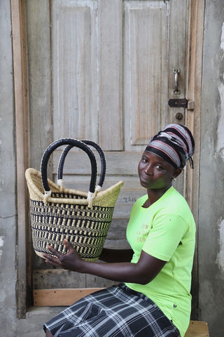 Nyariga Basket (Medium) by Apukomah Nsoh