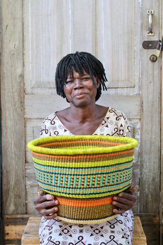 Drum Basket Jennifer Abota