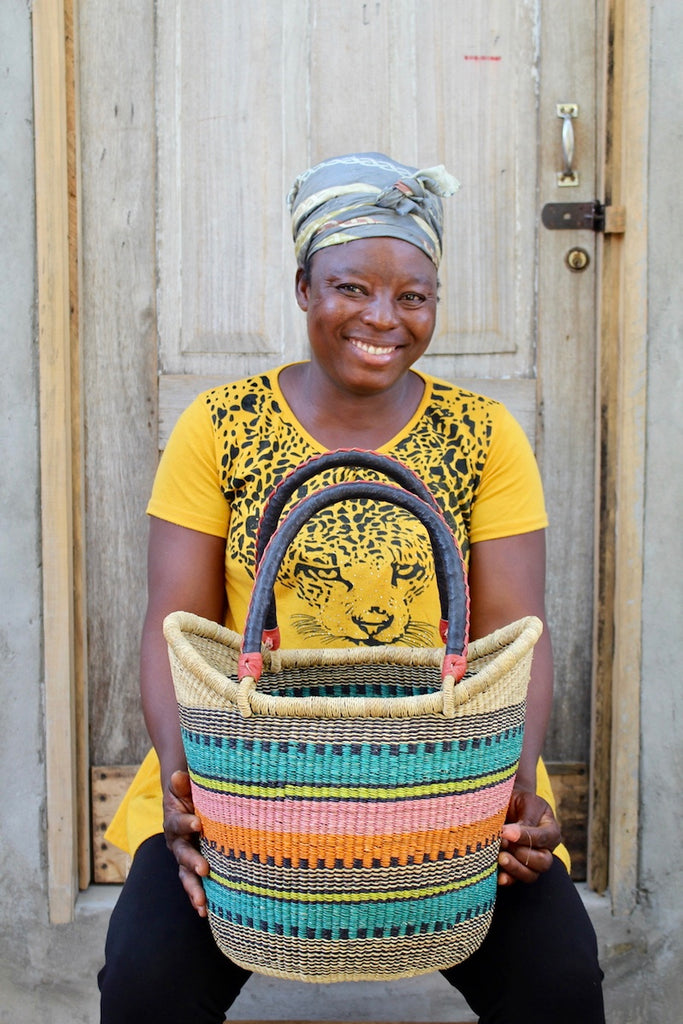 Nyariga Basket (Medium) by Comfort Abugre
