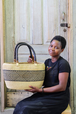 Tapoh Basket by Azumah Abisika