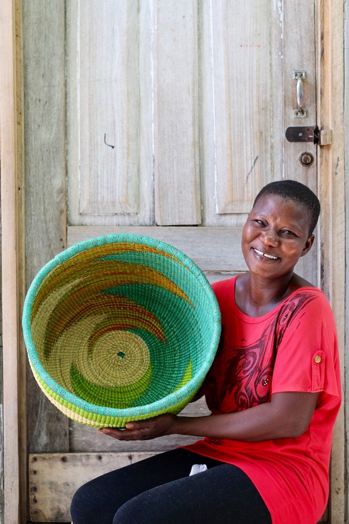 Woven Decor Basket - Special Bowl by Ayine Awuni