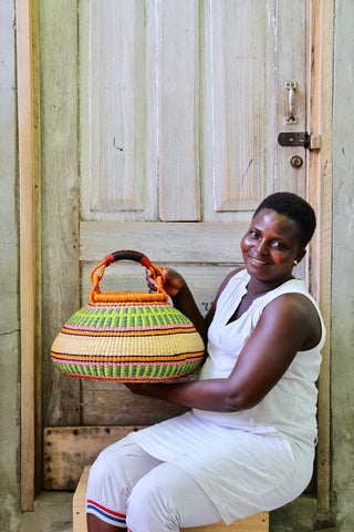 Pot Basket (Medium) by Vida Atambire