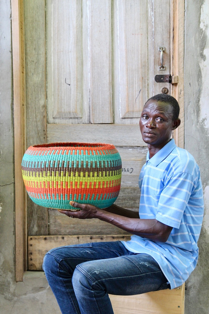 Woven Decor Basket - Special Bowl by Anakinaba (Cash) Adongo
