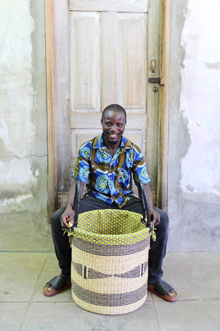 Laundry Basket (Medium) by Prosper Ageya