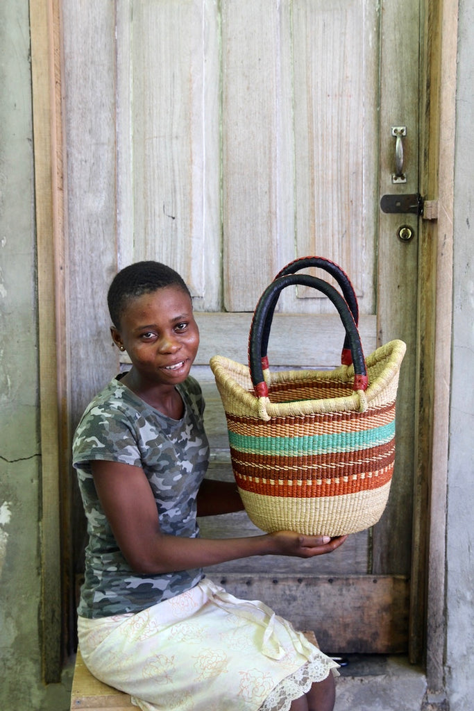 Nyariga Basket (Small) by Vida Ayelma