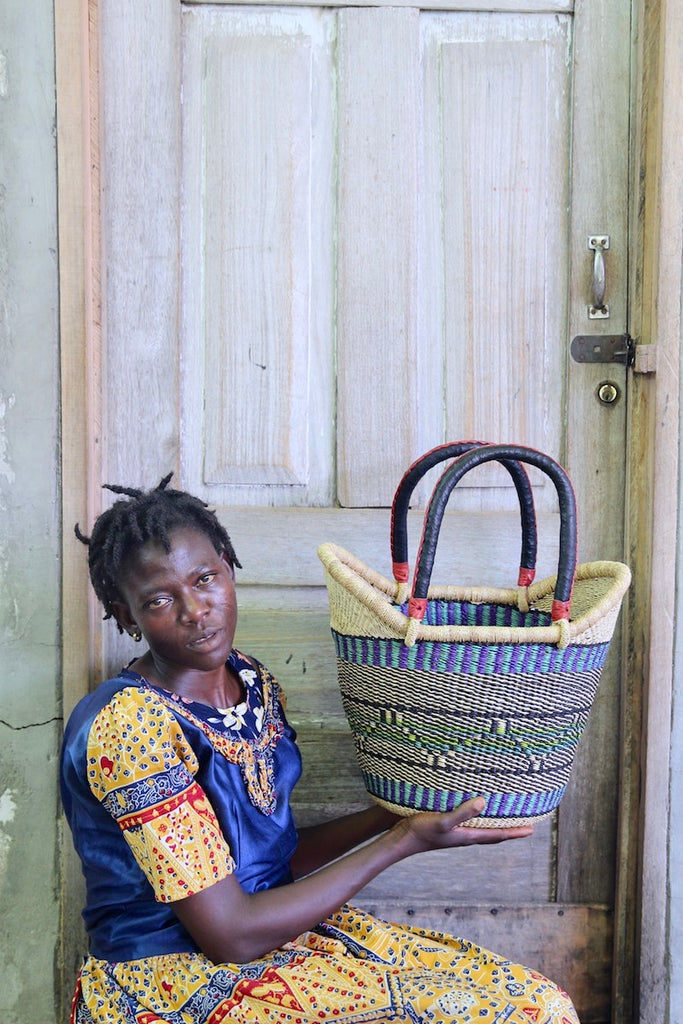 Nyariga Basket (Large) by Atipoka Akanobre