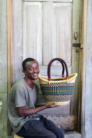 Nyariga Basket (Medium) by Benjamin Atiah