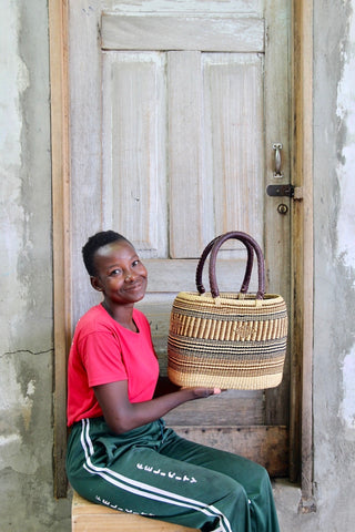 Tapoh Basket by Charity Atuah