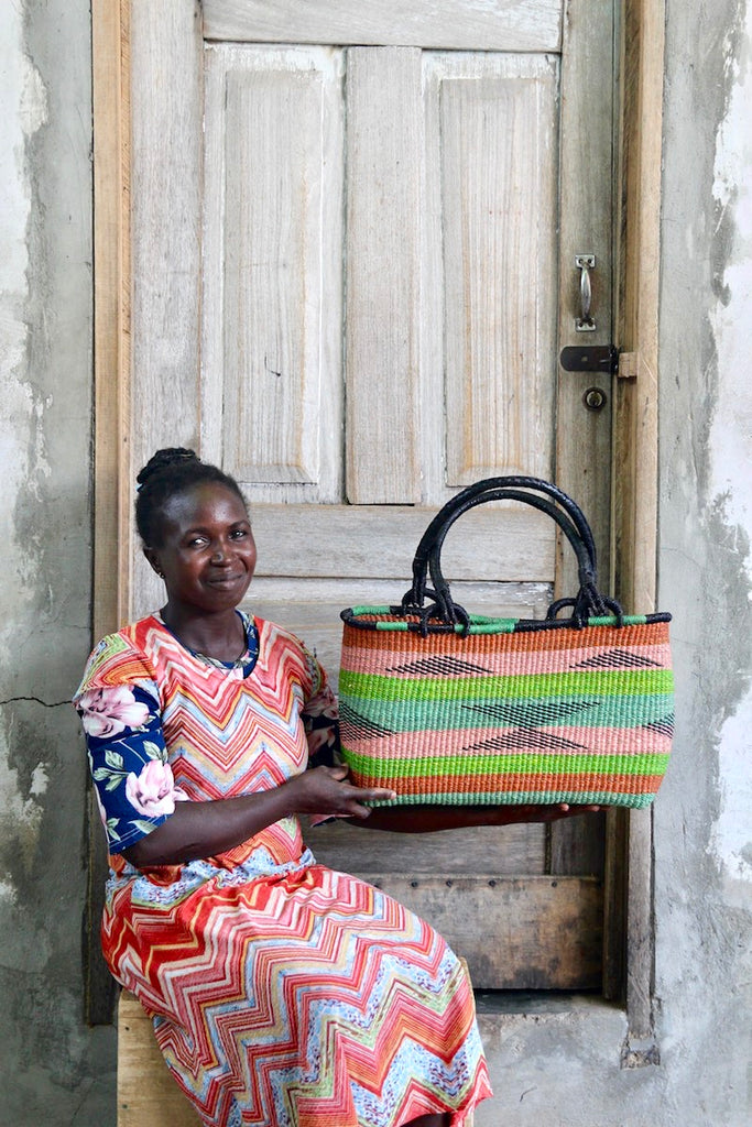 Slim Line Shoulder Basket by Asakiloro