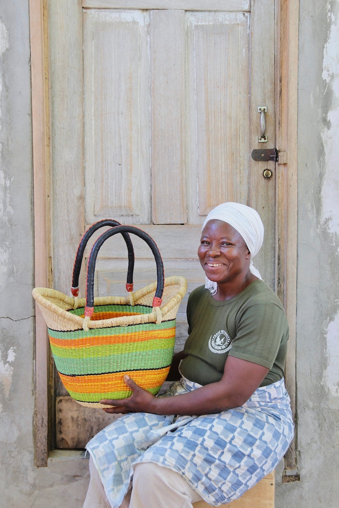 Nyariga Basket (Large) by Lariba Atiah